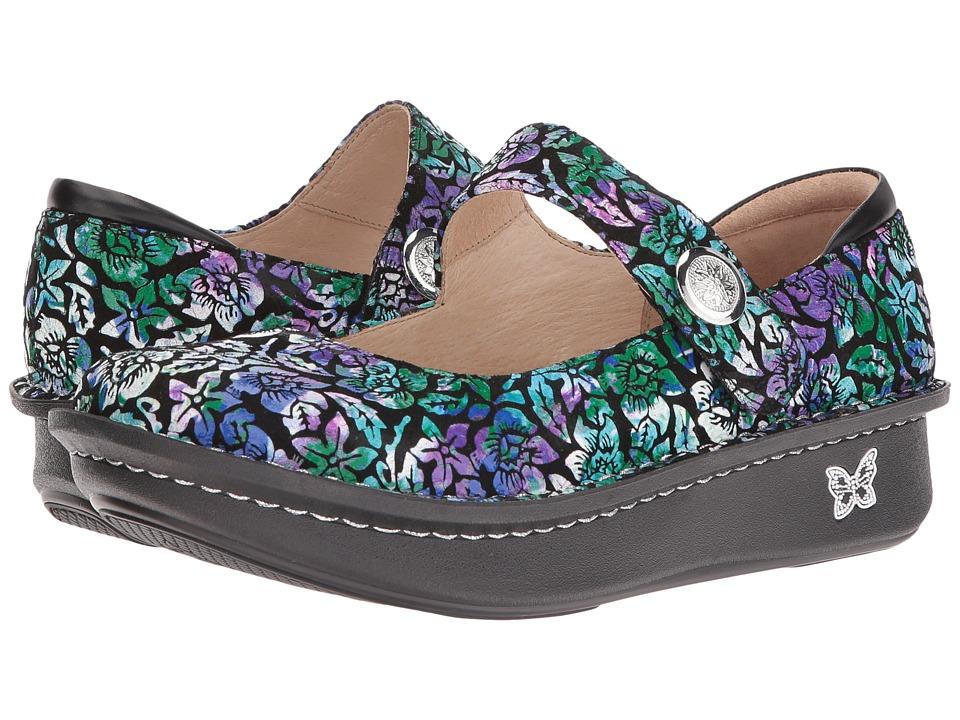 Alegria Paloma (Hibiscus) Maryjane Shoes