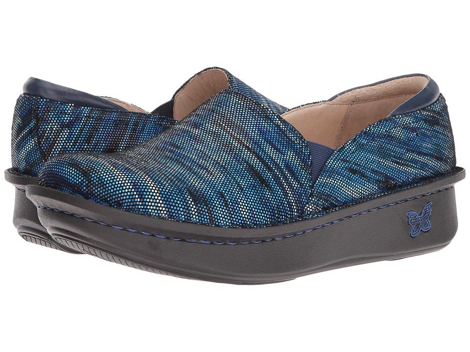 Alegria Debra (Wavy Navy) Women's Clog Shoes