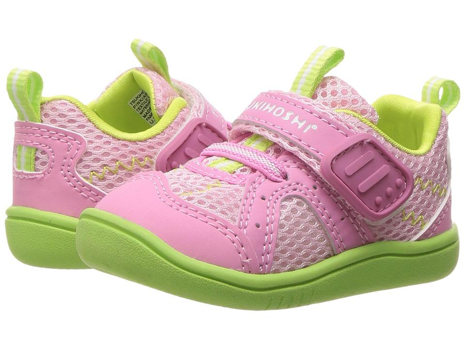 Tsukihoshi Kids B. Marina (Toddler) (Pink/Apple) Girl's Shoes