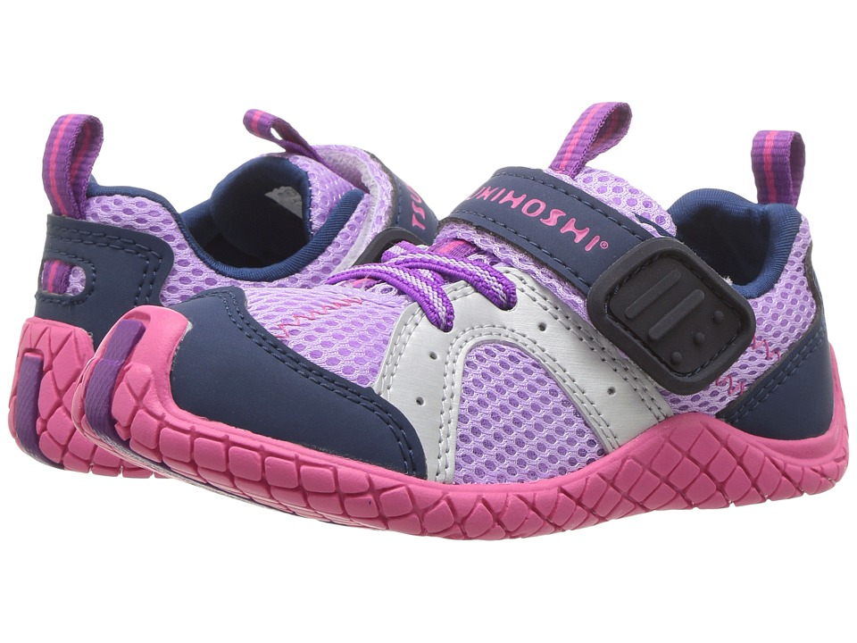 Tsukihoshi Kids - Marina (Toddler/Little Kid) (Lavender/Navy) Girls Shoes