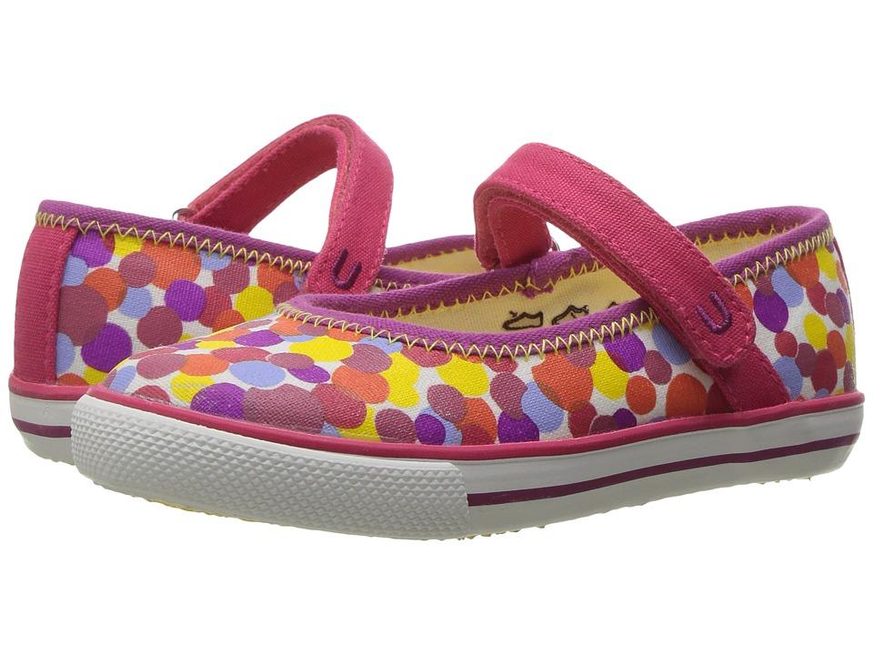 Umi Kids - Hana B (Toddler/Little Kid) (Berry Multi) Girls Shoes