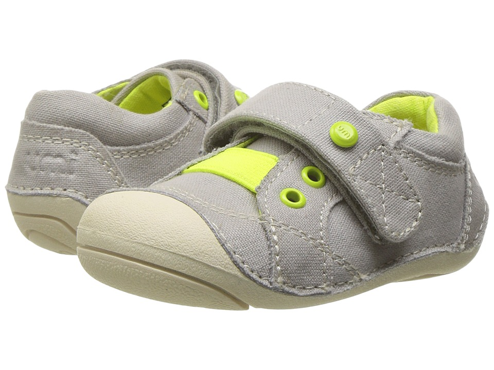 Umi Kids Weelie B Canvas (Toddler) (Light Gray) Boy's Shoes