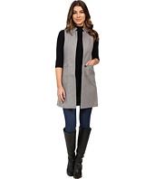 Calvin Klein - Faux Wool Vest w/ Zips