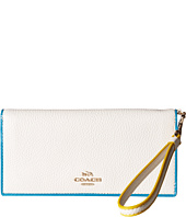 COACH - Tricolor Edgestain Slim Wallet