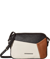 Nine West - Smooth Blocking Double Zip Crossbody