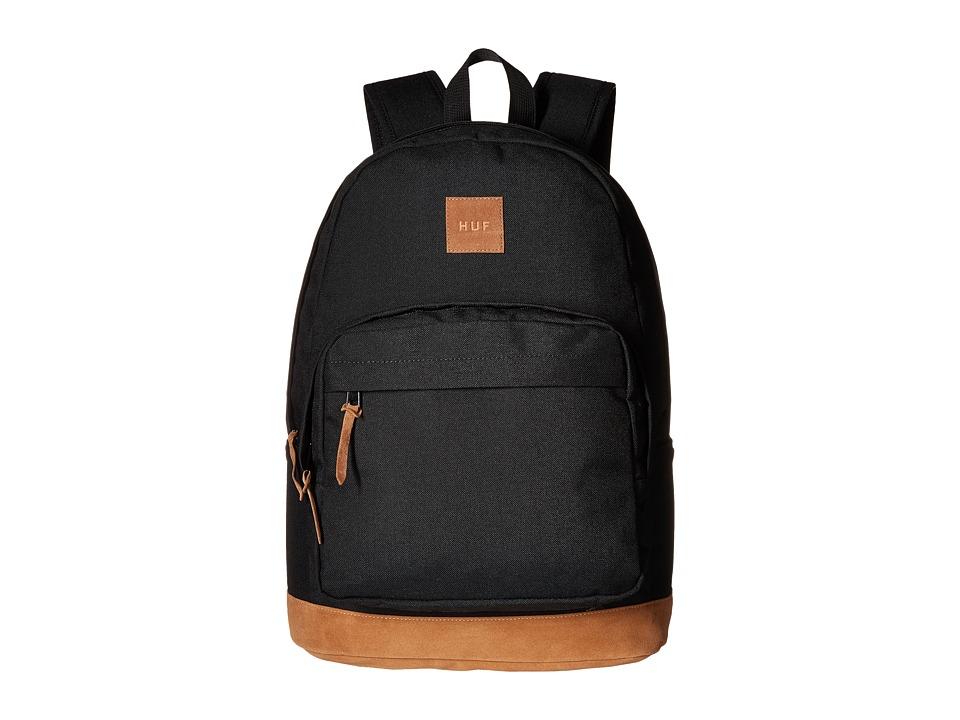HUF - Utility Backpack (Black 1) Backpack Bags
