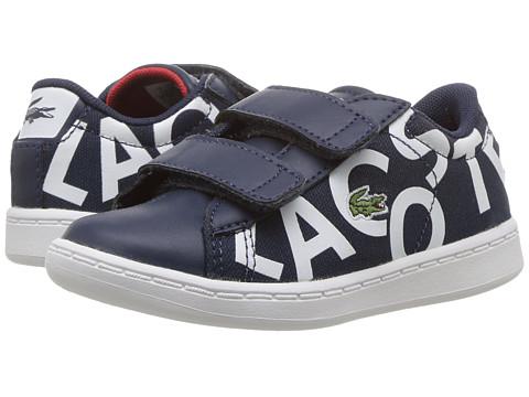 Lacoste Kids Carnaby Evo 117 1 SP17 (Toddler/Little Kid) - Navy/White