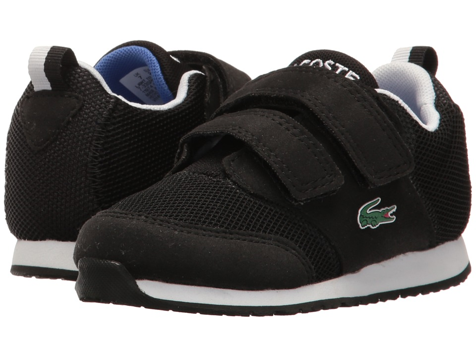 Lacoste Kids L.ight 117 1 SP17 (Toddler/Little Kid) (Black/Grey) Kids Shoes