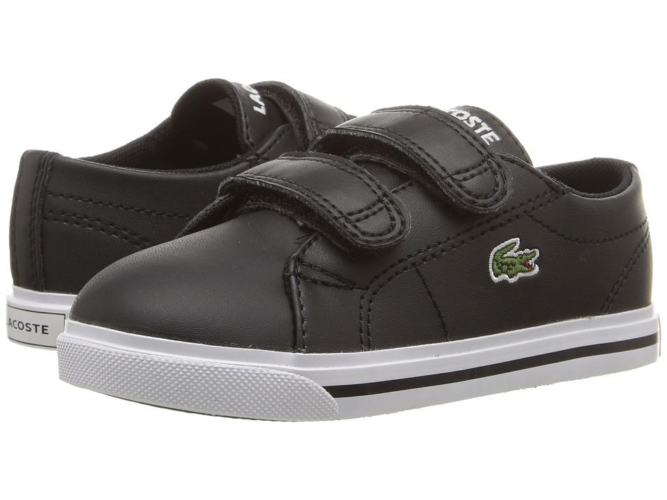 Lacoste Kids - Marcel 117 1 SP17 (Toddler/Little Kid) (Black/Black) Kids Shoes