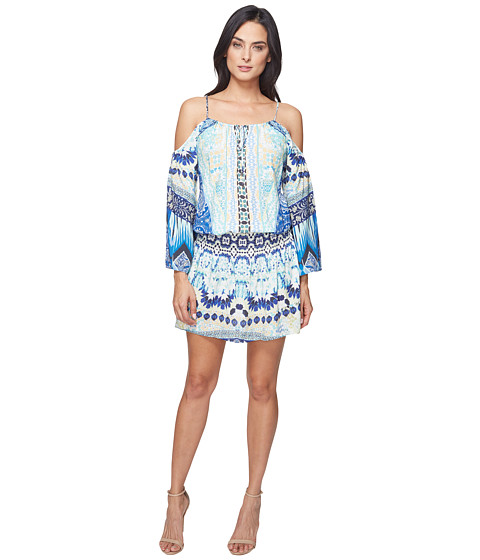 Hale Bob Force of Nature Woven Dress - Blue