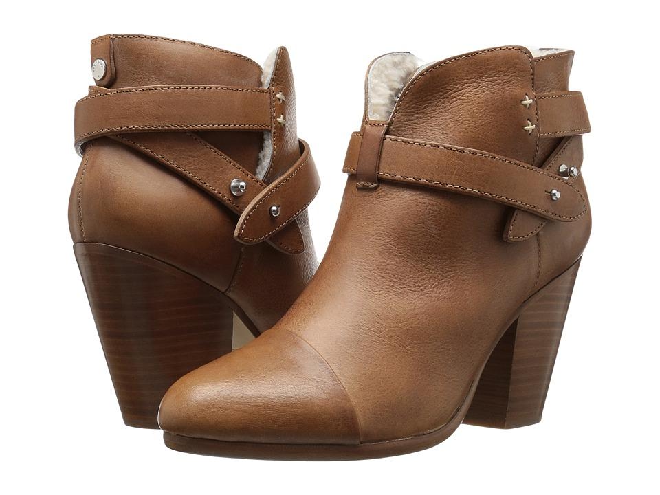 rag & bone Harrow Boot (Tan/Shearling) Women
