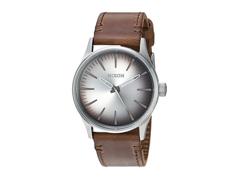 Nixon The Sentry 38 Leather X The Sea Ranch Collection - Ombre/Taupe