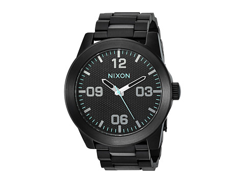 Nixon The Corporal SS X The Dark Energy Collection - All Black/Blue