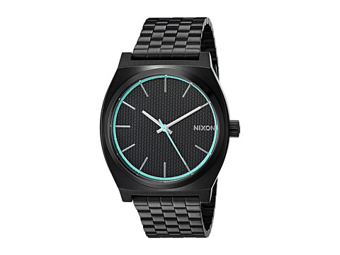 Nixon The Time Teller X The Dark Energy Collection - All Black/Blue