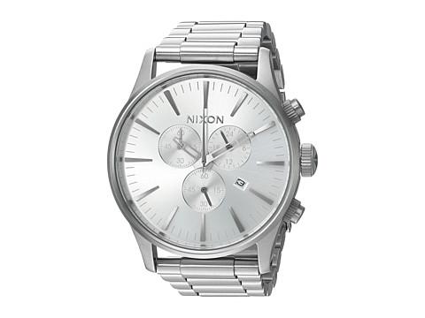 Nixon Sentry Chrono - All Silver