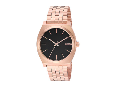 Nixon Time Teller - All Rose Gold/Black Sunray