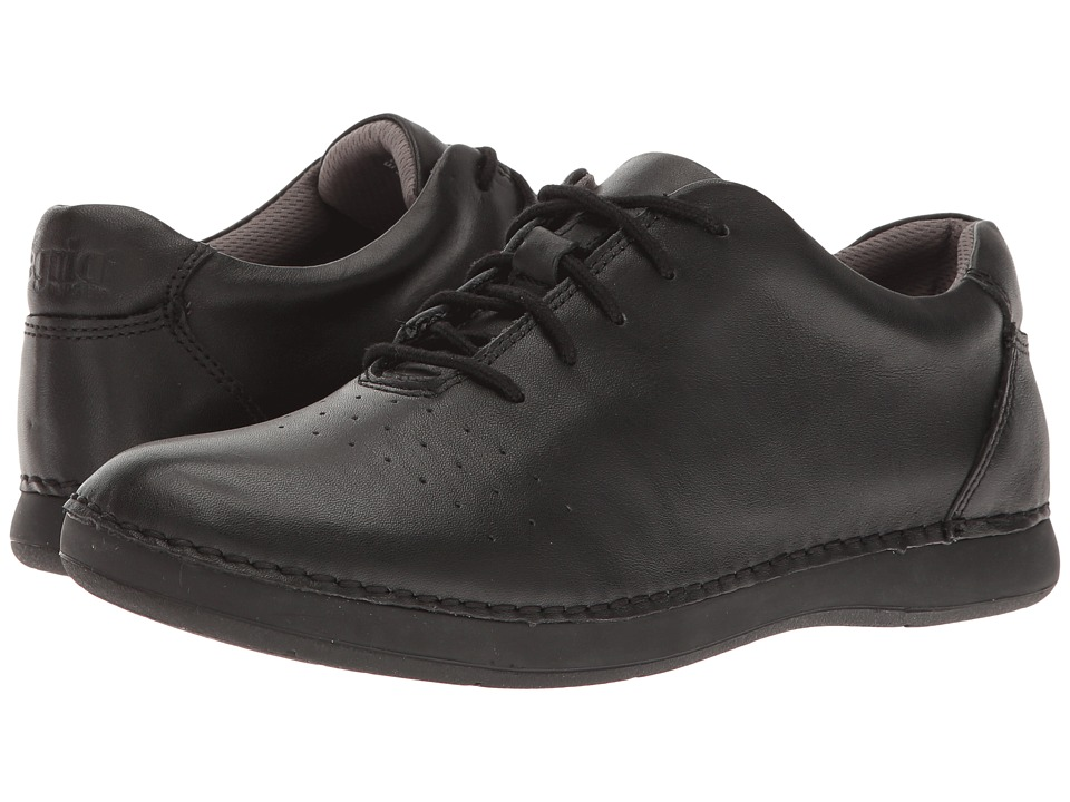 Alegria Essence (Black Nappa) Women's Lace up casual Shoes