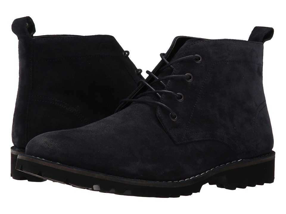 Kenneth Cole New York - Lug-xury (Navy) Mens Lace-up Boots