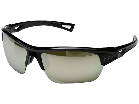Under Armour Octane - Shiny Black/Charcoa lFrame/Game Day/Chrome Multiflection Lens