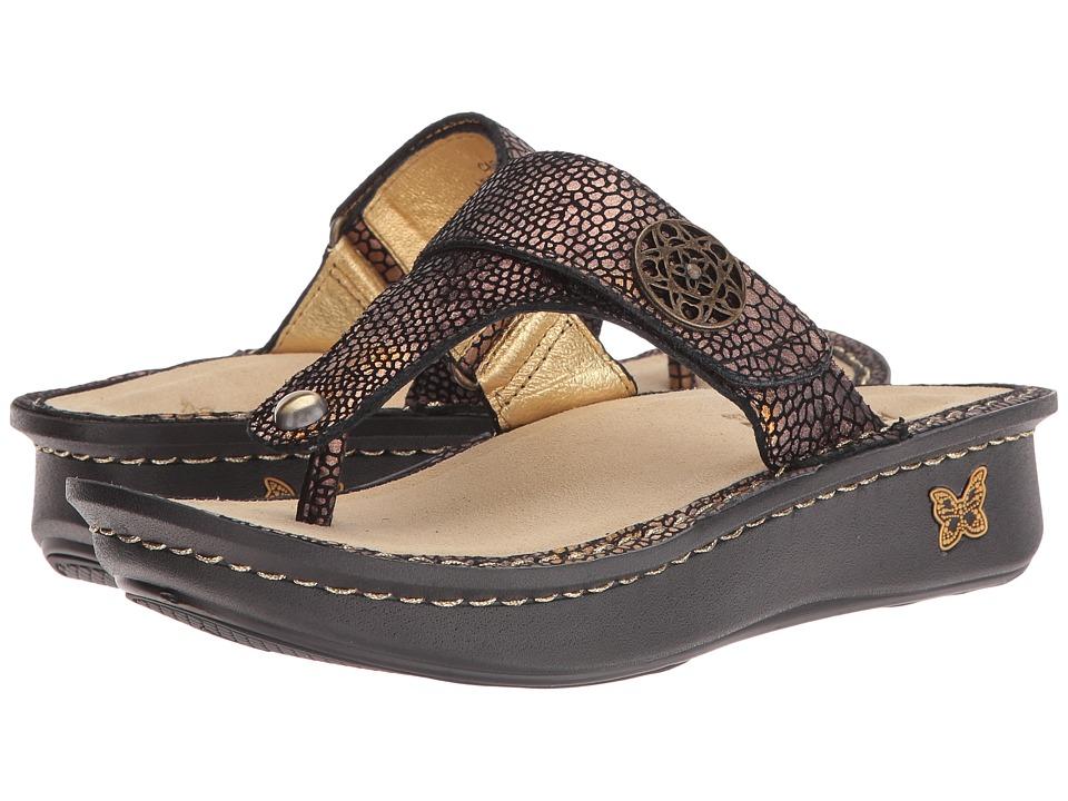 Alegria Carina (Bronze Mosaic) Sandals