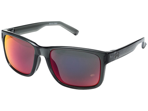 Under Armour Assist - Shiny Crystal Smoke/Gray Frame/Gray/Infrared Multiflection Lens