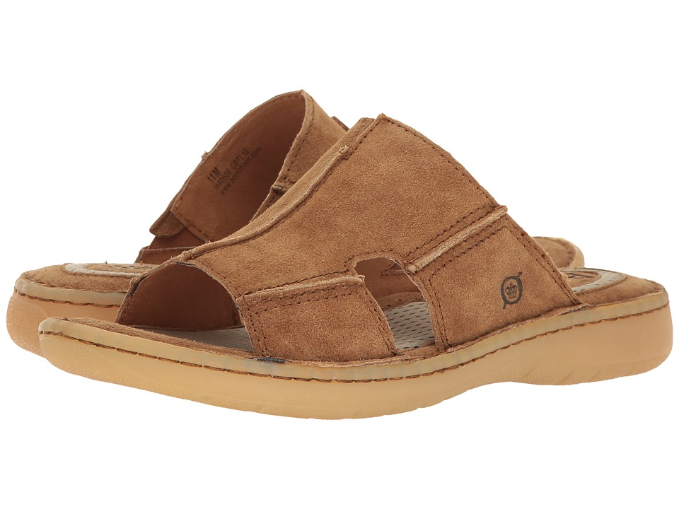 Born - Jared (Brown Distressed) Men's Sandals