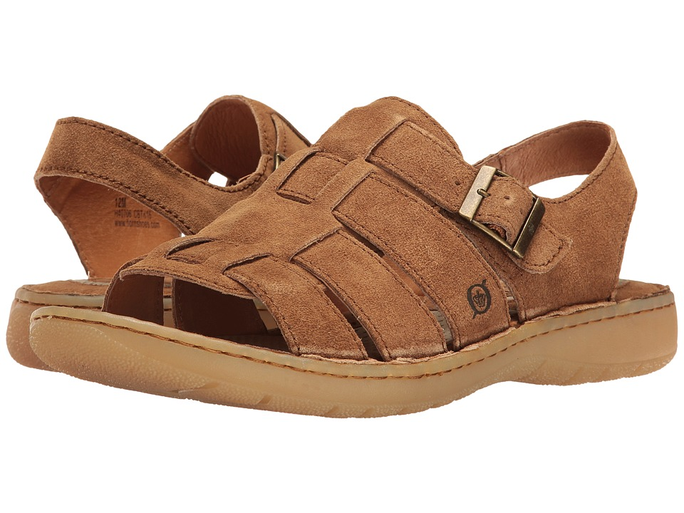 Born - Joshua (Brown Distressed) Men's Sandals