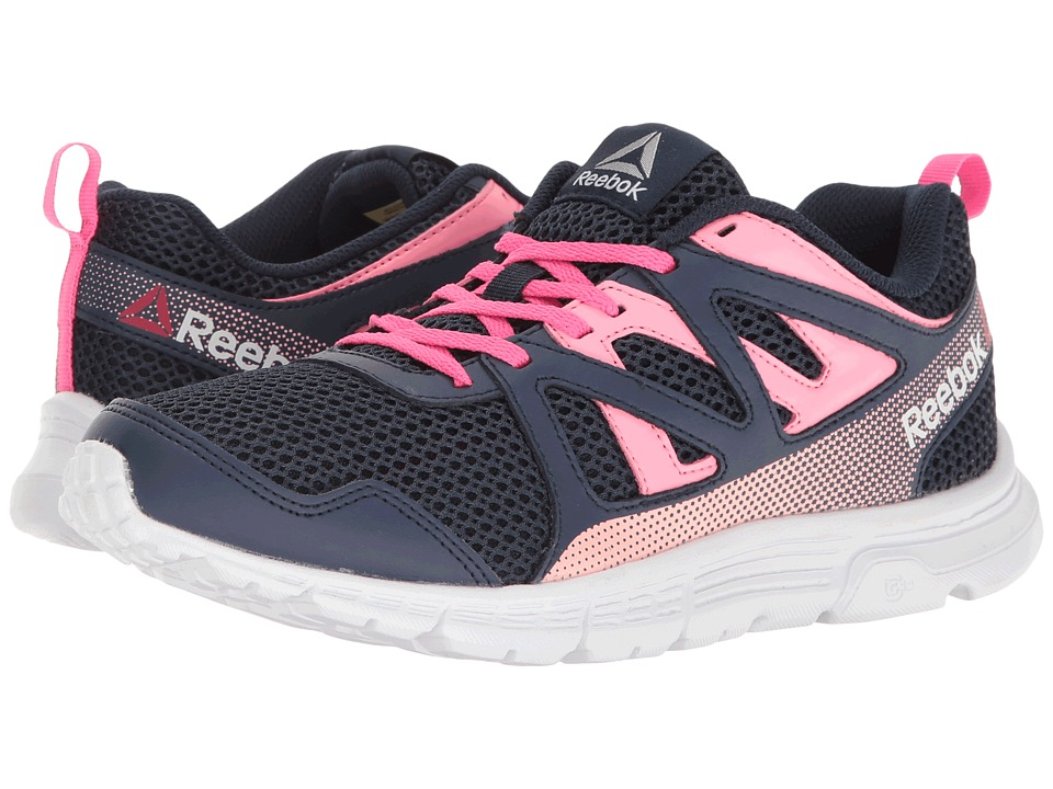 Reebok Kids - Run Supreme 2.0 (Little Kid/Big Kid) (Navy/Blue Ink/Solar Pink/Peppy Pink/White) Girls Shoes
