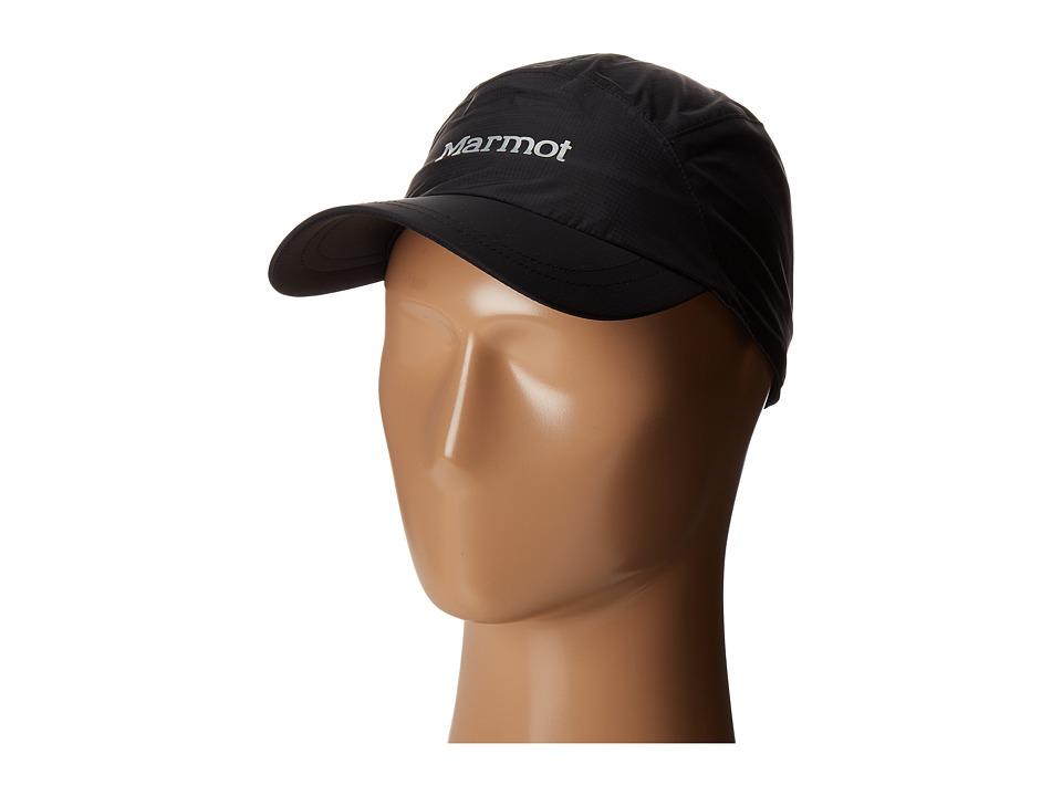 Marmot PreClip(r) Baseball Cap (Black) Caps