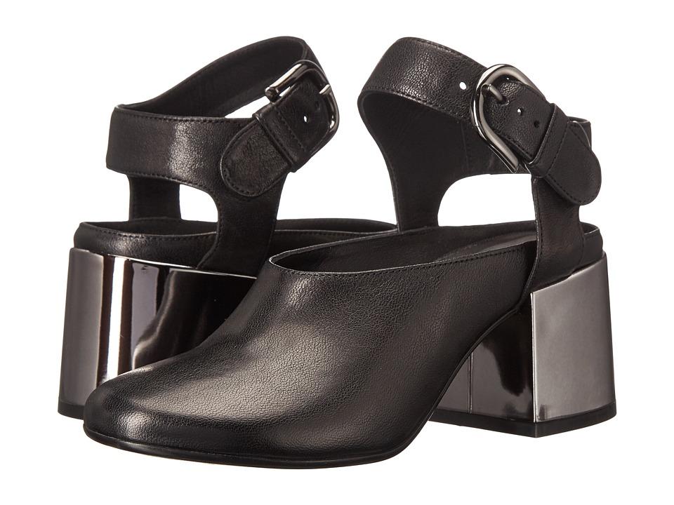 MM6 Maison Margiela Mary Jane Bootie (Black Leather) Women