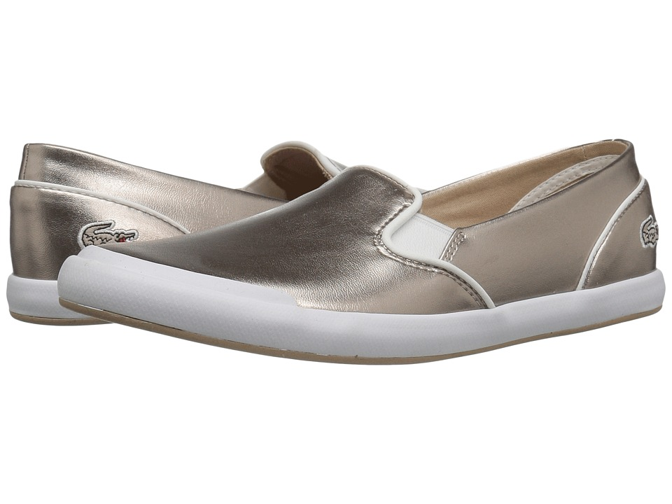 Lacoste Lancelle Slip-On 316 2 (Grey) Women