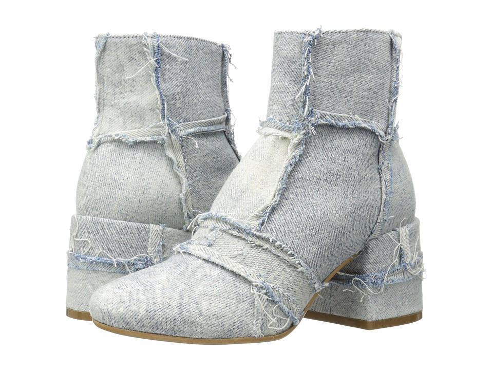 MM6 Maison Margiela Vintage Denim Ankle Boot (Super Vintage Denim) Women