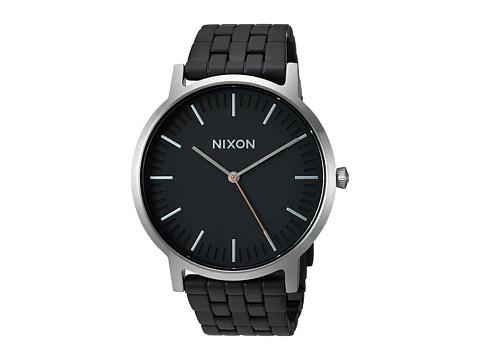 Nixon The Porter X The Brush Steel Collection - Black/Steel
