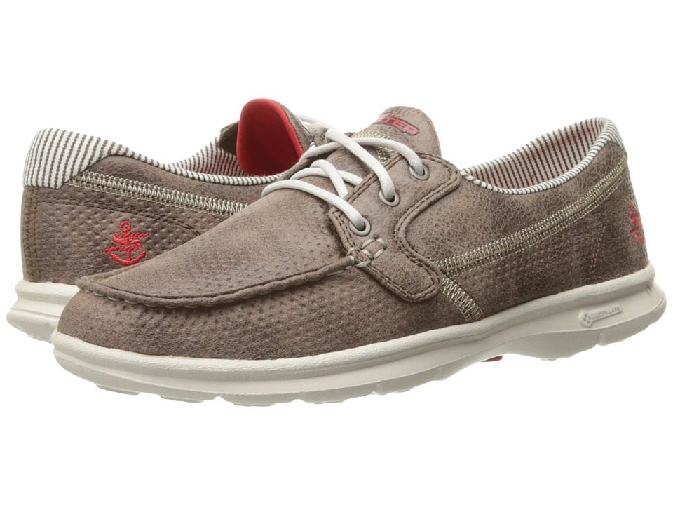 SKECHERS Performance Go Step Shore (Brown) Women