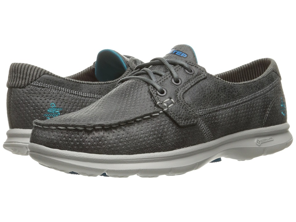 SKECHERS Performance Go Step Shore (Charcoal) Women