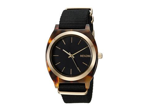 Nixon The Time Teller Acetate X The Mash Up Collection - Tortoise/Black