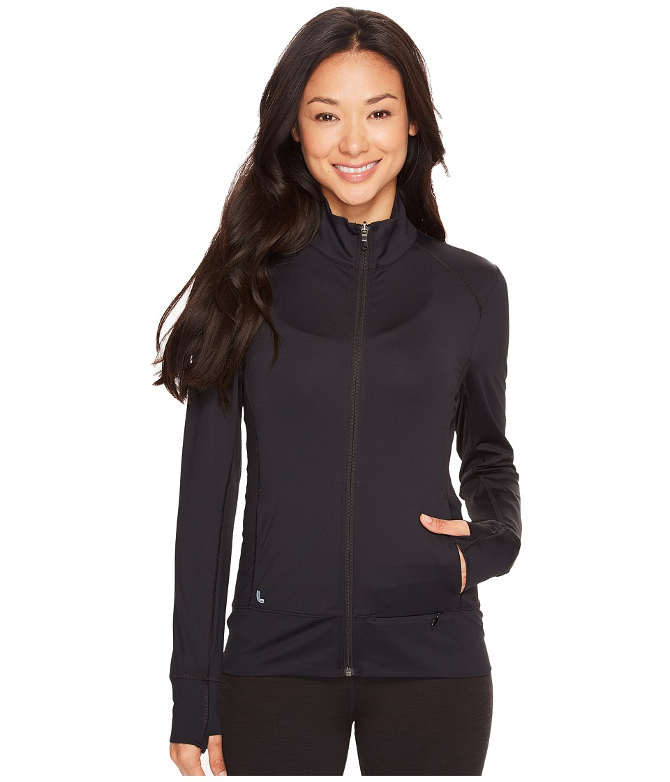 Lole Essential Up Cardigan (Black 1) Women's Workout