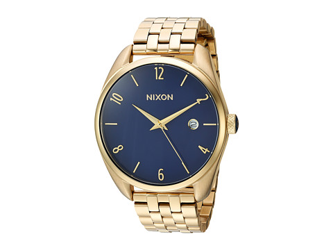 Nixon The Bullet X The Living Colour Collection - Light Gold/Navy