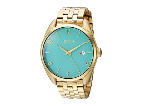 Nixon The Bullet X The Living Colour Collection - Light Gold/Turquoise