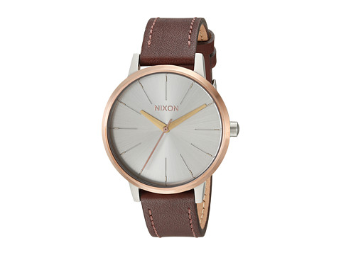 Nixon The Kensington Leather X The Tri-Blend Collection - Silver/Gold/Rose Gold