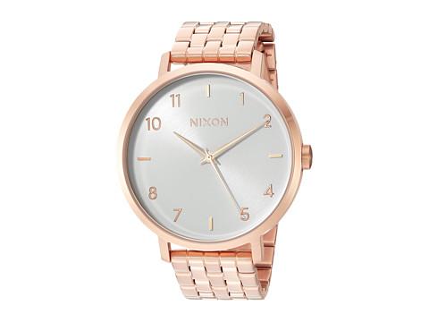 Nixon Arrow - All Rose Gold/White