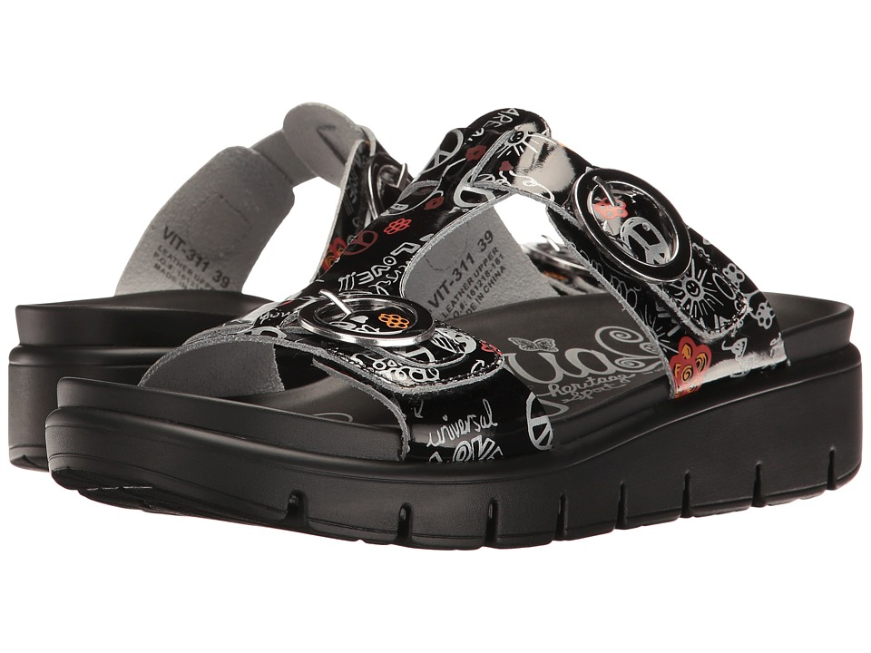 Alegria Vita (Peace & Love Black) Women's  Shoes
