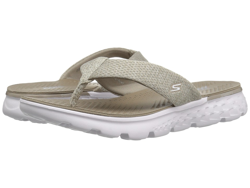 SKECHERS Performance On-The-Go 400 Vivacity (Taupe) Women
