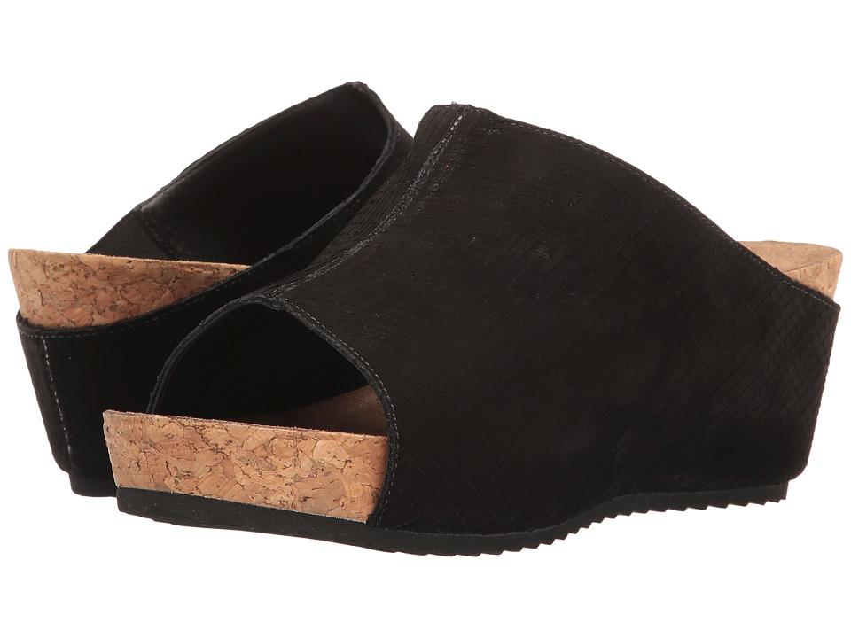 Walking Cradles Tiegan (Black Snake Nubuck) Sandals
