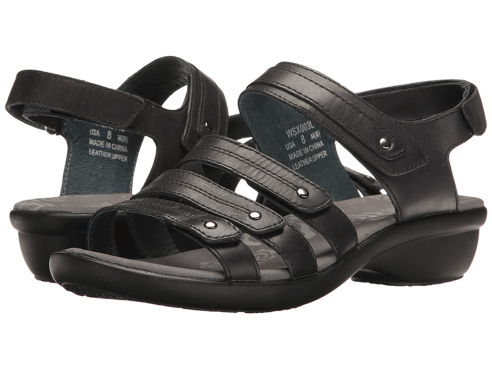 Propet Aurora (Black) Women's Hook and Loop Shoes