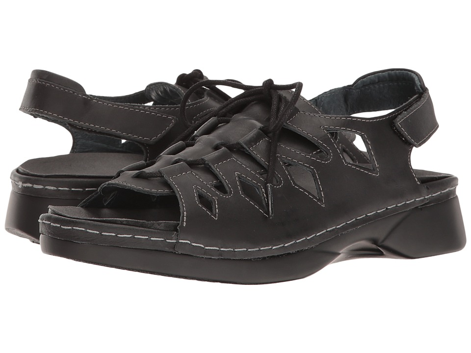 Propet - GhillieWalker (Black) Women's Sandals