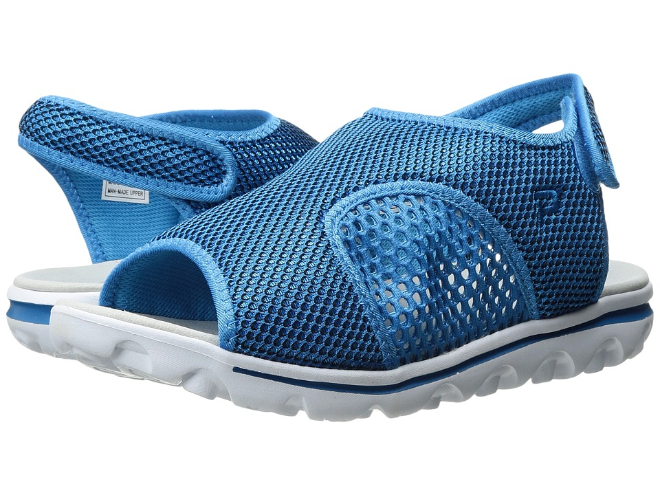 Propet TravelActiv SS (Blue/Black) Sandals
