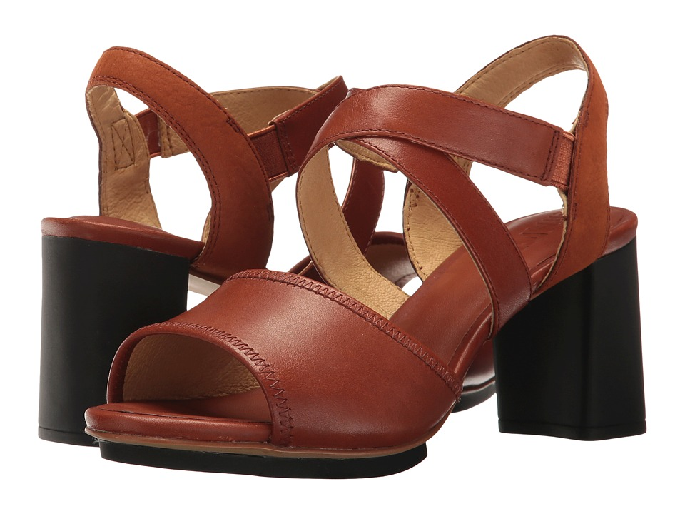 Camper Myriam K200340 (Medium Brown) High Heels