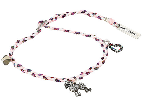 Marc Jacobs Charms Paradise Poodle Friendship Bracelet - Pink Multi