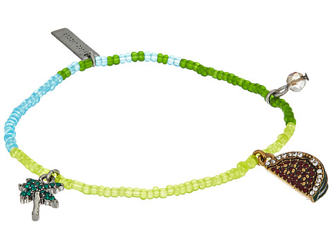 Marc Jacobs Charms Tropical Watermelon Friendship Bracelet - Green Multi